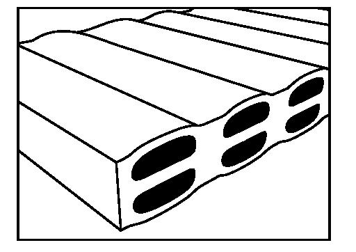 Dvojitá vrstva horizontálních komor