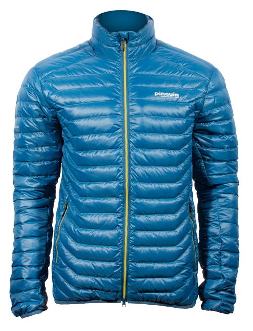 Glimmer Jacket modrá, zepředu