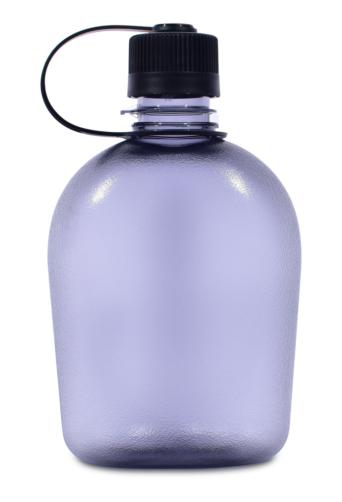 Tritan flask grey zepředu