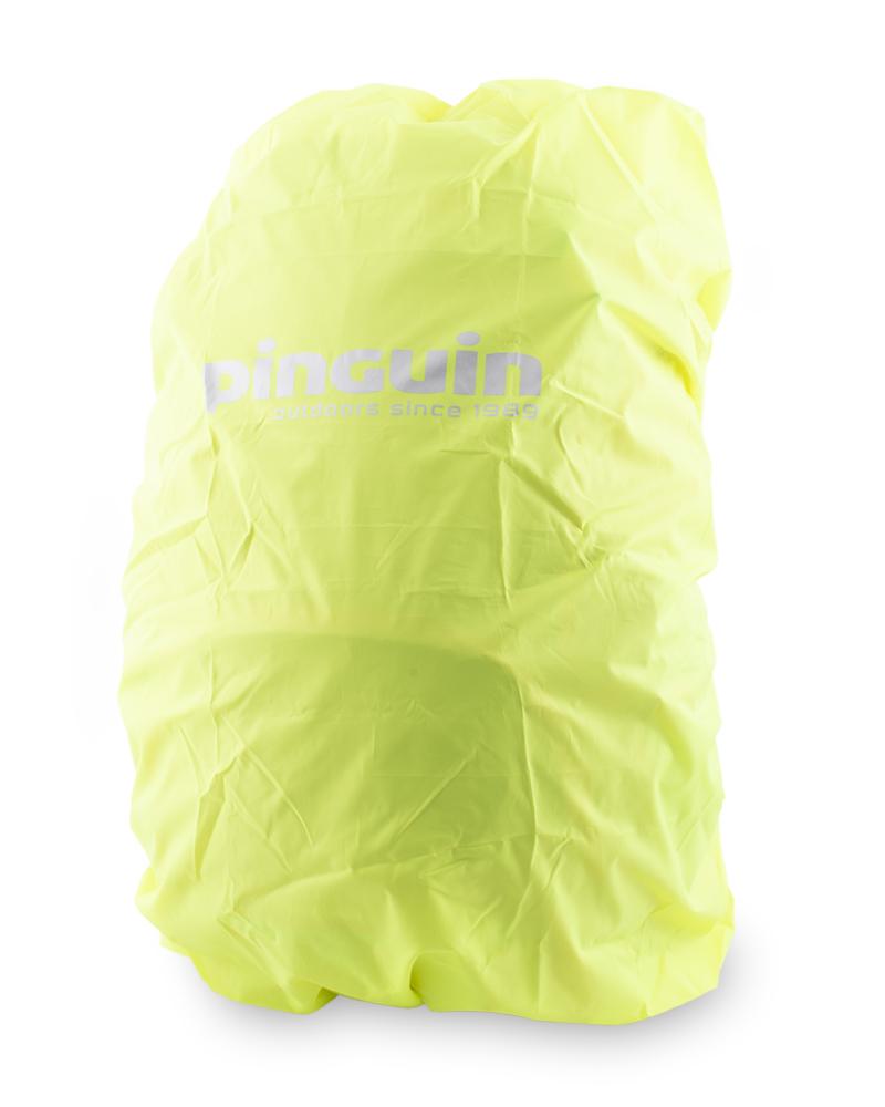Výrazná pláštěnka v samostatné zipové kapse na dně batohu. Umístění kapsy umožňuje využít kapsu pro transport pouzdra na nářadí.