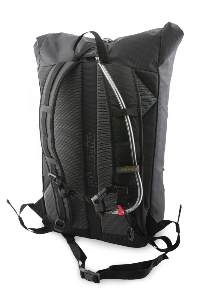 Commute 25 - Output to the water bag hose at the top of the backpack.