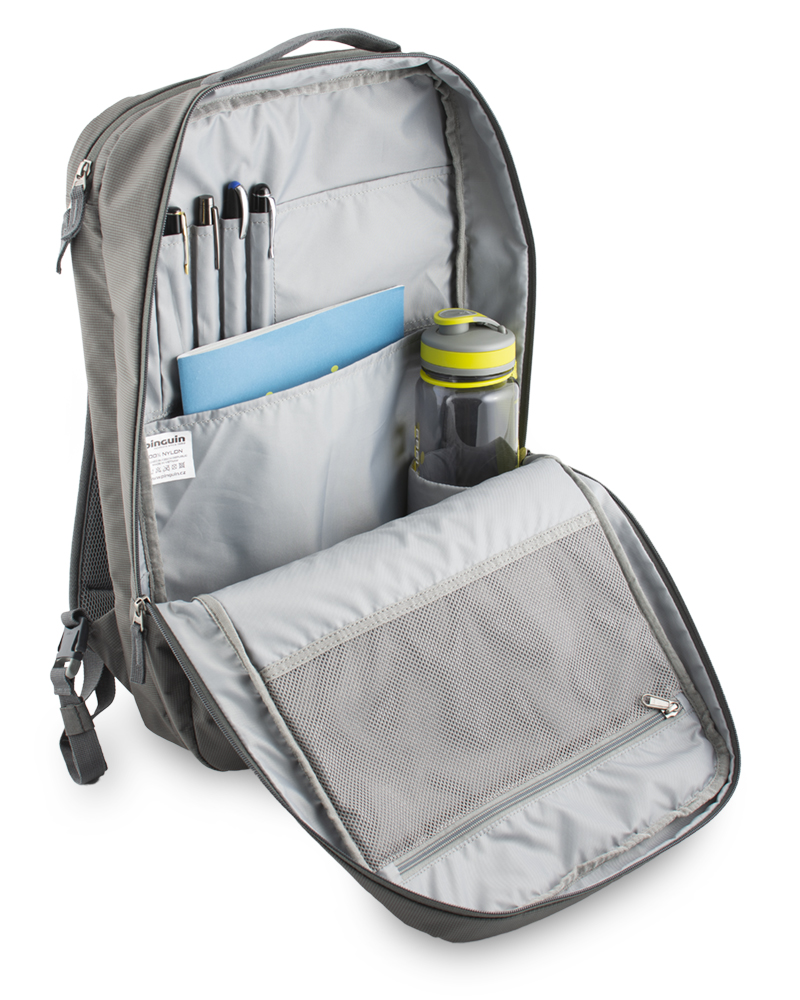 Integral 30 - Binder for paperwork and office equipment inside the main compartment of the backpack.