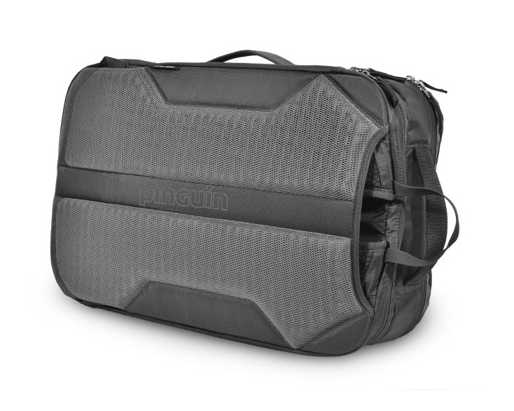 Integral 30 - Shoulder and lumbar straps can be hidden in the back of the backpack to create a bag.