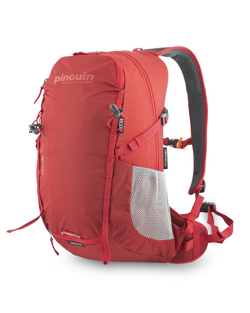 Ride 19 red - pár vertikálních řetízků na čele batohu s možností připevnění dodatečného vybavení