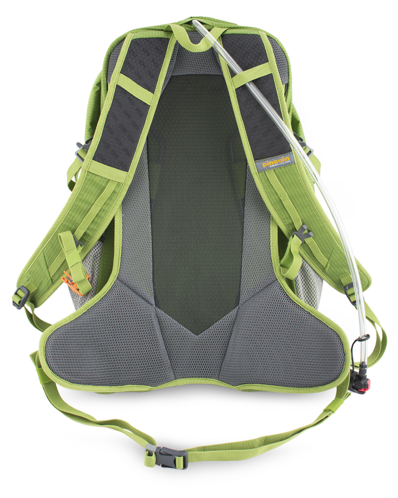 Ride 25 green - Hip strap with central wings for a comfortable fit on the back and movement elimination.