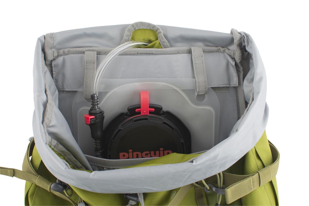 Activent 48 green - přepážka oddělující vodní vak od dalšího převáženého vybavení uvnitř hlavní komory