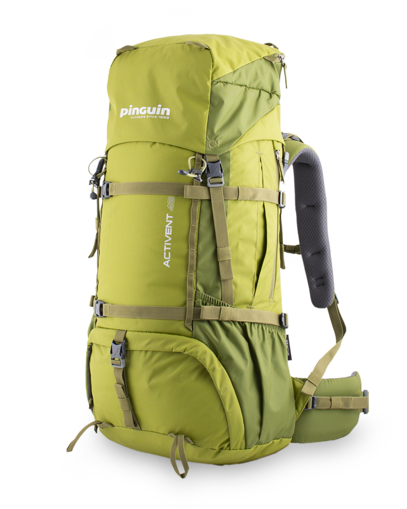 Activent 48 green - Spacious zippered side pockets for easy access to food, gloves or a jacket.