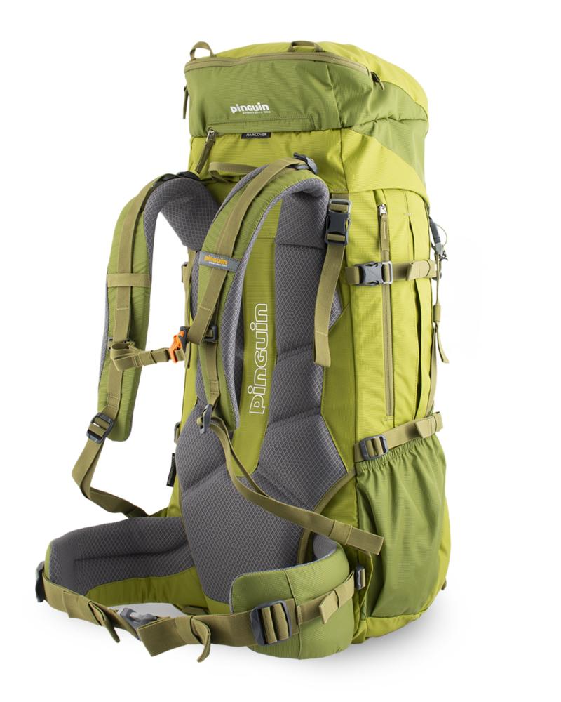 Activen 48 green - balanční popruhy v horní části ramenních popruhů a na bocích bederního pásu pro dokonalé usazení batohu na zádech a eliminaci jeho pohybu při chůzi