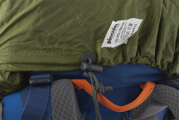 Raincover M - khaki backpack brake