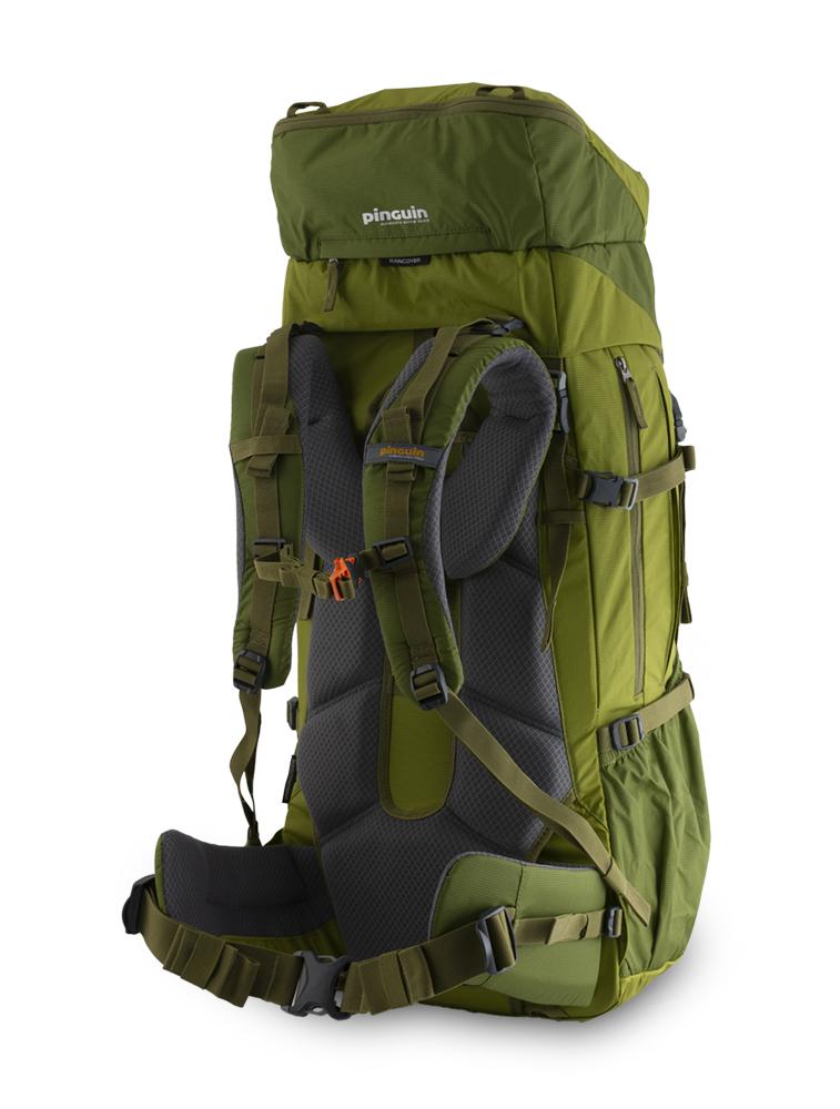 Activen 55 green - balanční popruhy v horní části ramenních popruhů a na bocích bederního pásu pro dokonalé usazení batohu na zádech a eliminaci jeho pohybu při chůzi