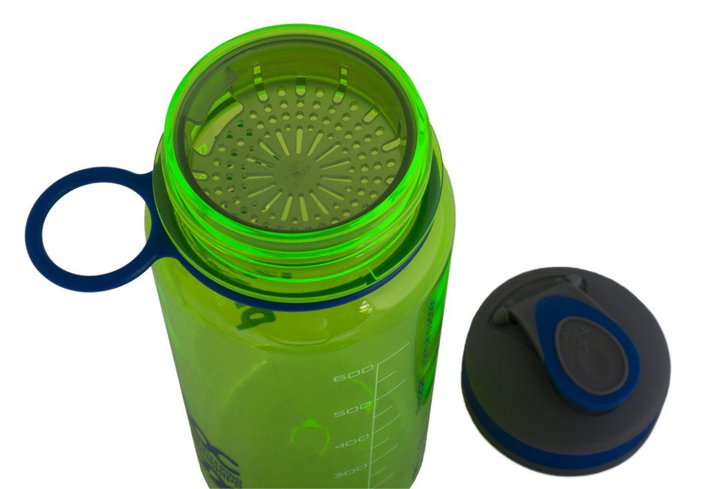 Tritan Sport Bottle zelená+sítko