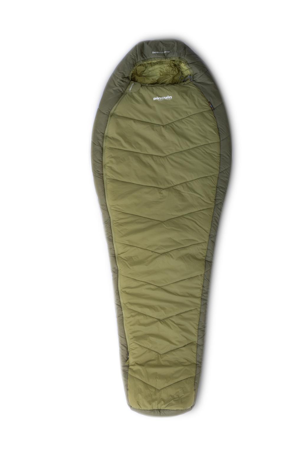 Mumiový spacák Comfort khaki