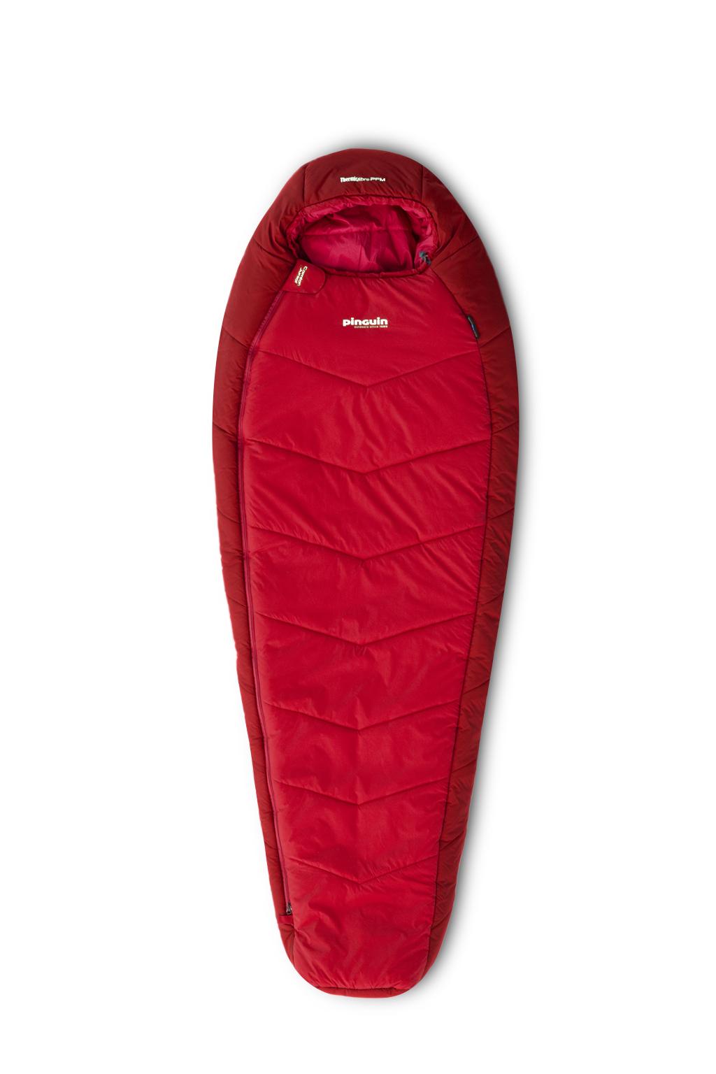 Mumiový spacák Comfort Lady červený
