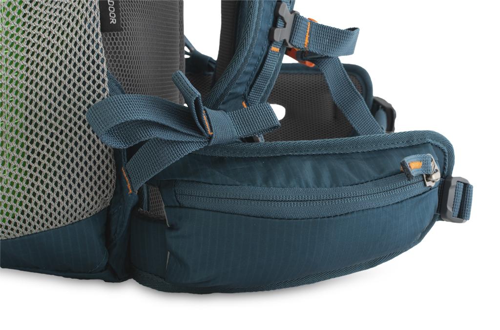 Fly 15 - zipová kapsa na bederním pásu