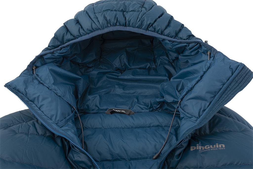Mont jacket - pružná lemovka na kapuci a stahovací pruženky
