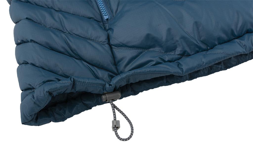 Mont Jacket - stahování spodního lemu
